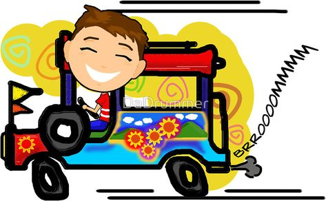 800x494 Phillipines Clipart Jeepney Driver.