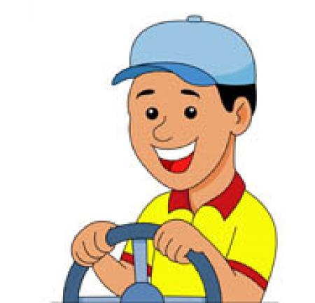 Driver clipart jeepney driver, Driver jeepney driver.