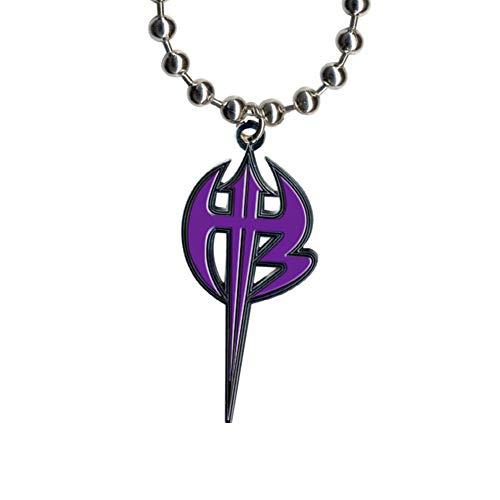 WWE Jeff Hardy Purple Logo Pendant.