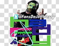 Jeff Hardy Logo Alma Editions, men\'s black crew.