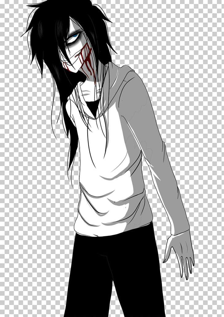 Jeff The Killer Anime Creepypasta Fan Art Mangaka PNG, Clipart.