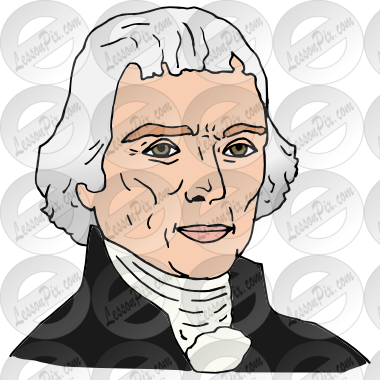 Thomas Jefferson Picture for Classroom / Therapy Use.