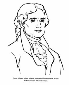 Animated thomas jefferson clipart.