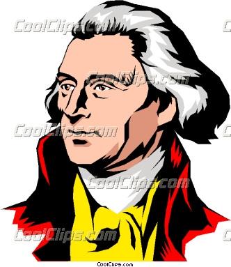 Thomas Jefferson Clip Art.