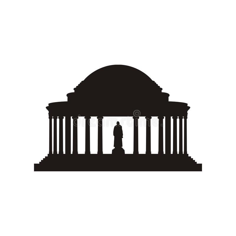Jefferson Memorial Stock Illustrations.
