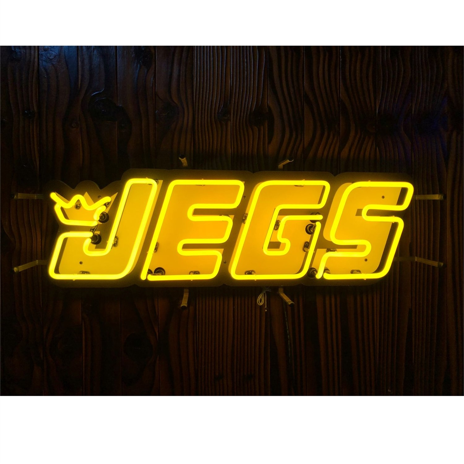 JEGS Apparel and Collectibles JEGS Logo Neon Sign.