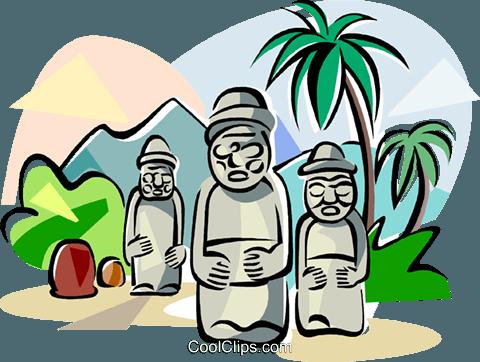 Jeju island clipart.