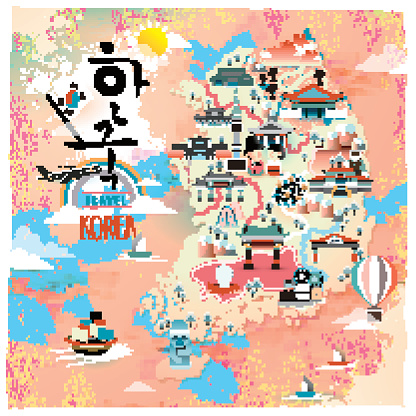 Jeju Island Clip Art, Vector Images & Illustrations.