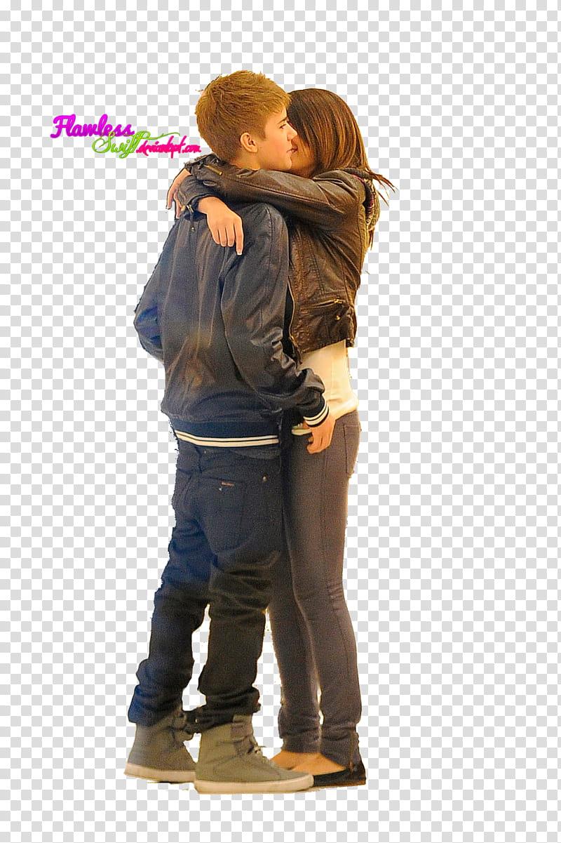 Jelena MEGA, woman hugging man transparent background PNG clipart.
