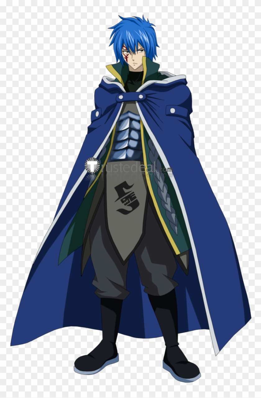 Fairy Tail Crime Sorciere Meredy Jellal Ultear Blue.