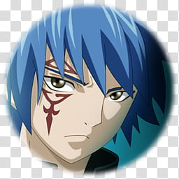 Fairy Tail Icon , Jellal, male Fairy Tail character.