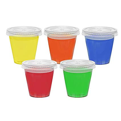 Amazon.com: Toasted Drinkware Squeezable Plastic Clear 2 oz.