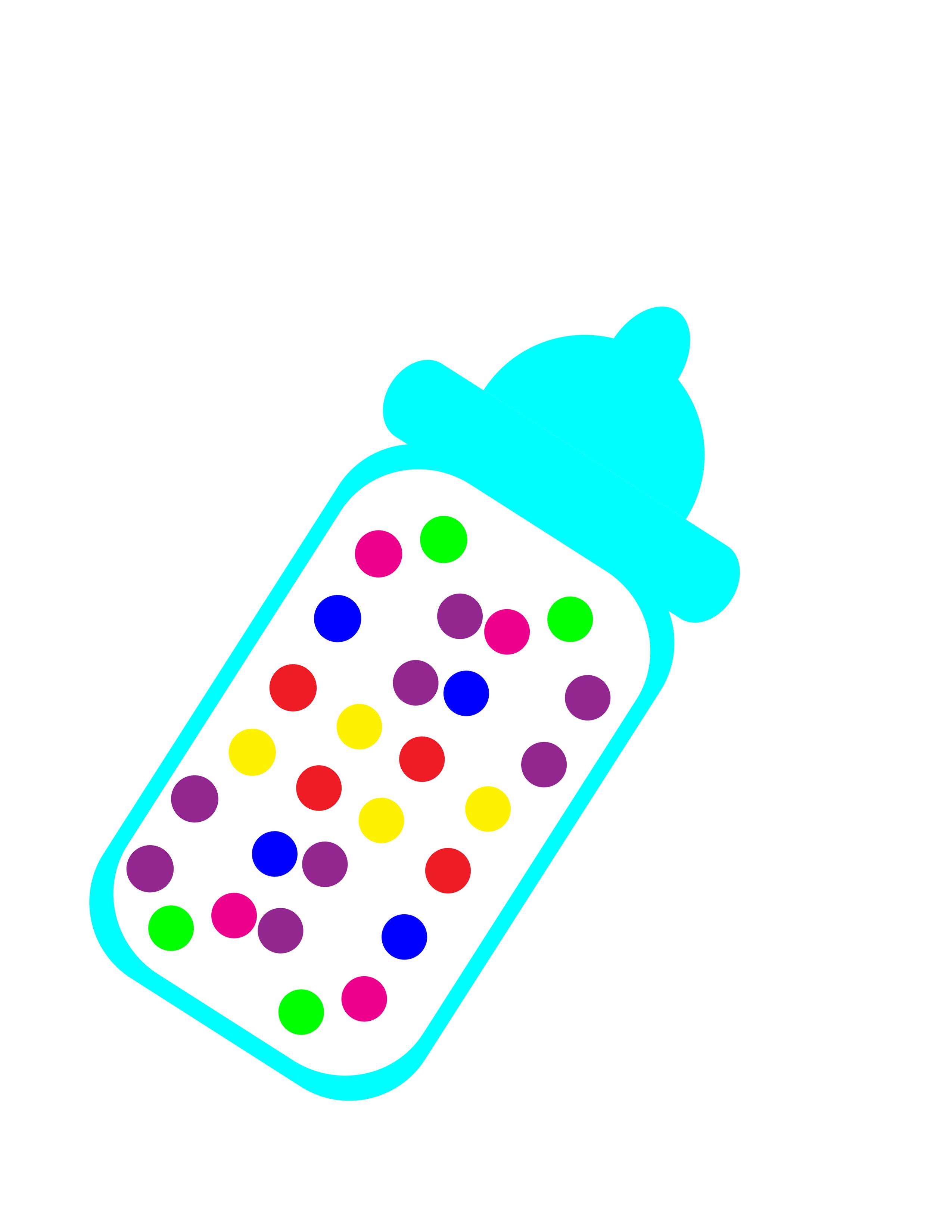 Baby shower Baby Bottles Jelly bean Clip art.