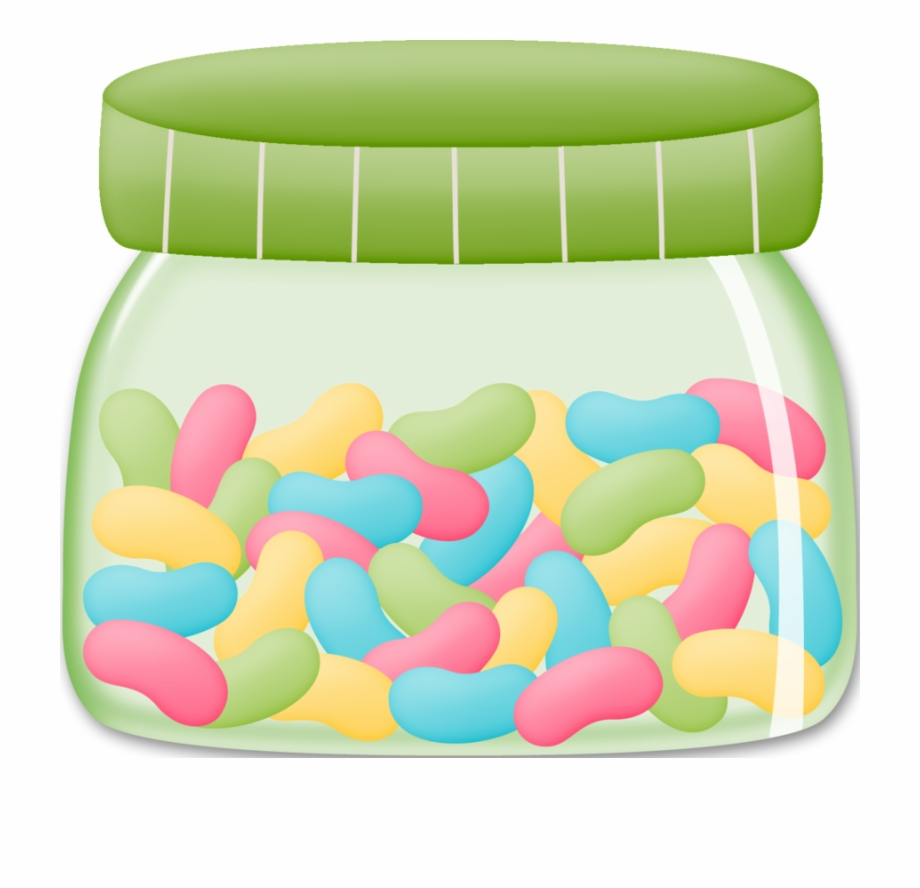 Jar Of Jelly Beans Clip Art Candy Clipart.