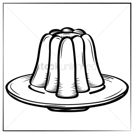 Jelly clipart black and white 5 » Clipart Station.