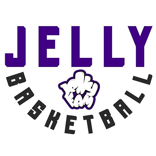 \'Jelly Fam Basketball\' Poster by The Real Jonny D.