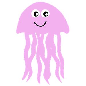 Jelly fish clip art.