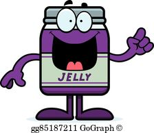Jelly Jar Clip Art.