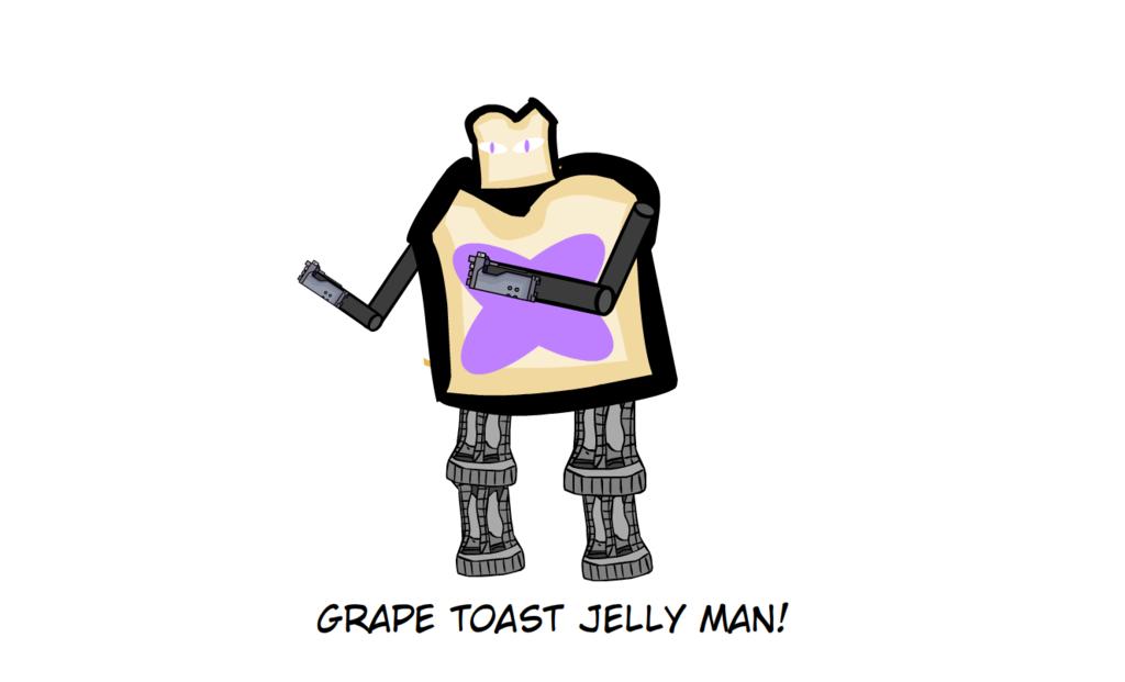 ITSW: Grape Toast Jelly Man by ORT451 on DeviantArt.
