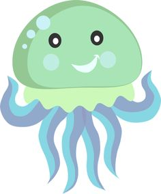 Free jellyfish clipart.