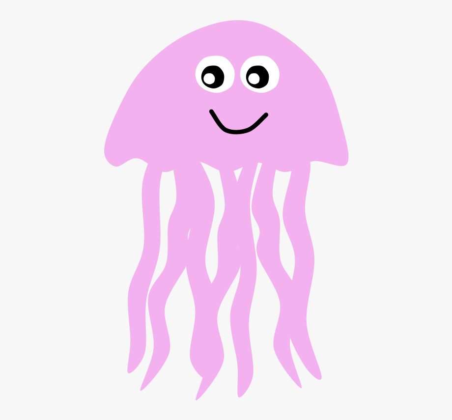 Jellyfish Clipart Face, Cliparts & Cartoons.