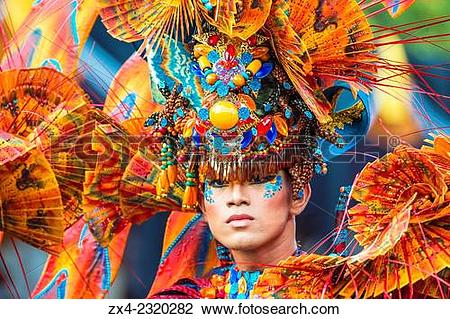 Stock Photo of Jember Fashion Festival and Carnival, East Java.