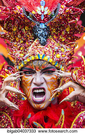 """Stock Photo of """"Jember Fashion Festival and Carnival, East Java."""