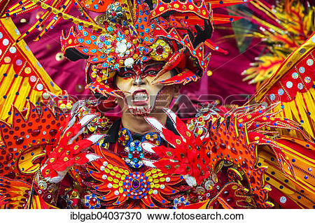"""Stock Photography of """"Jember Fashion Festival and Carnival, East."""