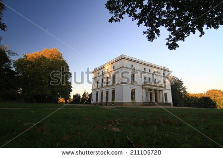 Manor House Denmark Clausholm Castle Park Stock Photo 34884478.