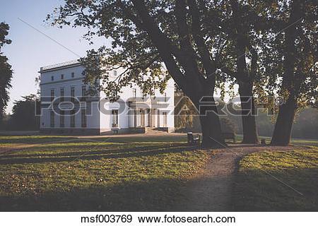 Stock Photograph of Germany, Hamburg, Jenischpark, Classicistic.