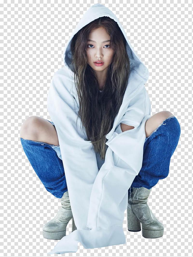Jennie transparent background PNG clipart.