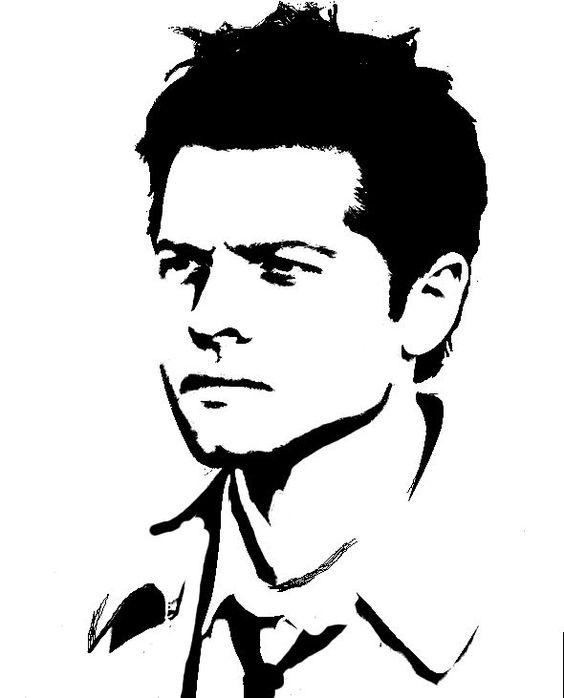 Jensen ackles supernatural clipart.