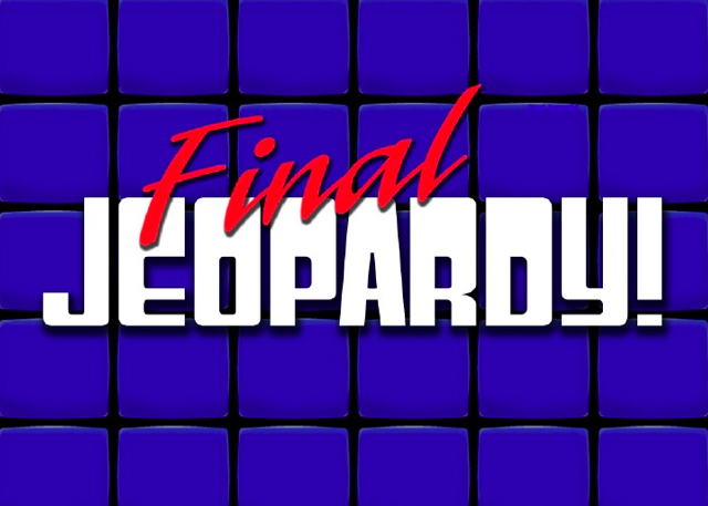 FINAL JEOPARDY PART 1: Production Facts.