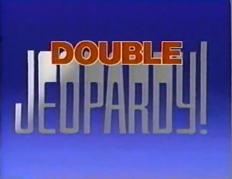 No Double Jeopardy Clipart.