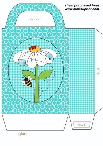 Blue poppy gift bag 2 by Stephen Poore: Amazon.co.uk: Kitchen & Home.