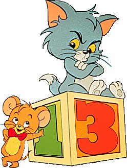 Tom and jerry Clip Art.