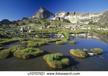 Stock Photography of Gwillim Lakes, Valhalla Provincial Park.