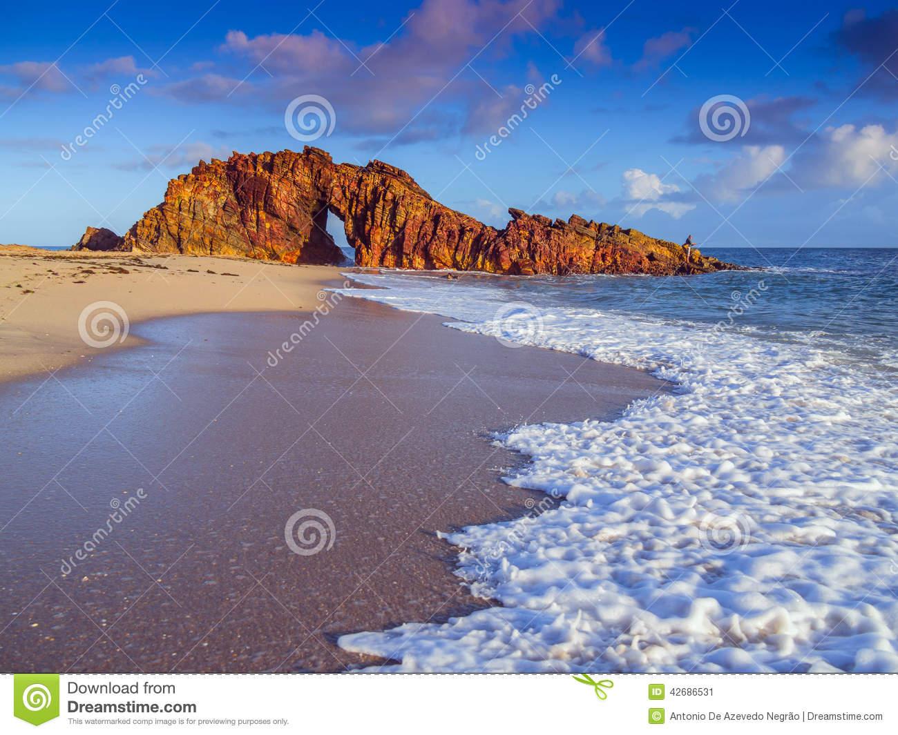 Jericoacoara Beach Stock Photo.