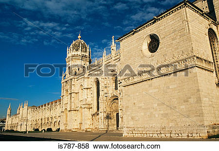 Pictures of Jeronimos monastery lisbon is787.