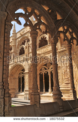 Jeronimos Monastery Stock Photos, Royalty.
