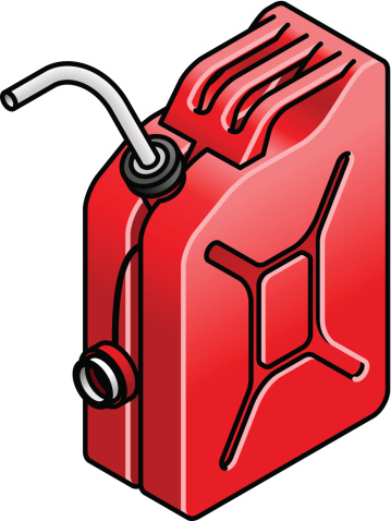 Jerry can clipart #20