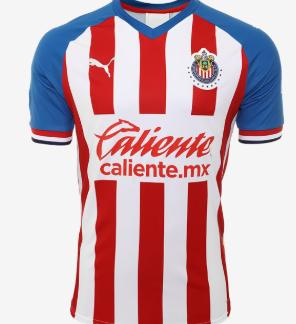 Chivas Guadalajara Home Jersey 19/20.