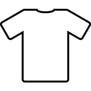 Football jersey clip art.