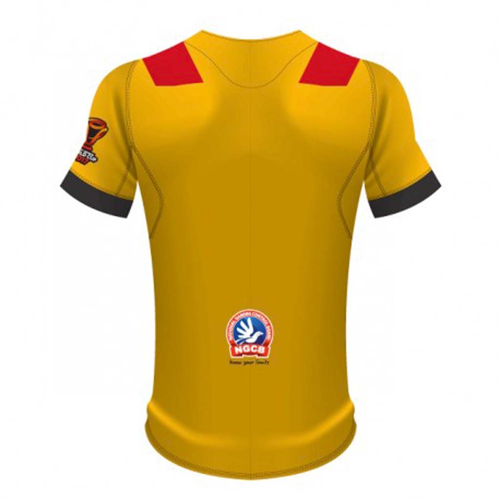 PNG Rugby League World Cup Home Jersey.