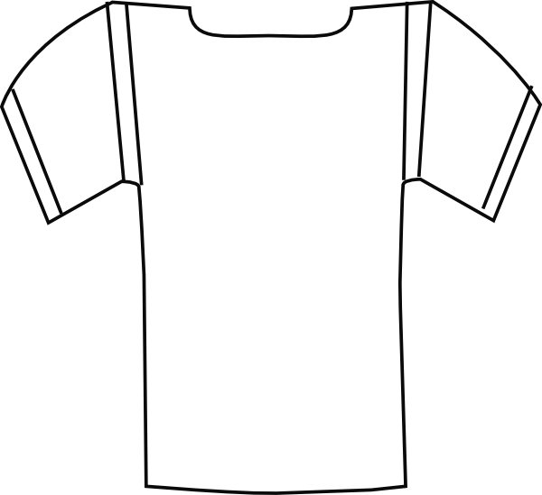 Football Jersey Clipart Free.
