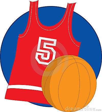 Basketball Jersey Clipart.