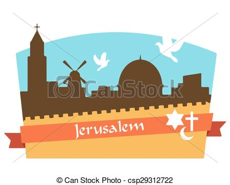Jerusalem old city Stock Illustrations. 130 Jerusalem old city.