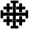 Jerusalem Cross (Crusader's Cross).