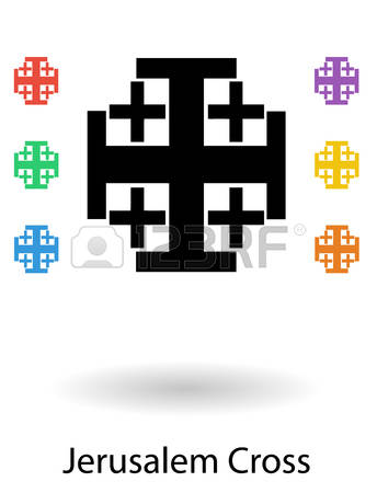 396 Jerusalem Cross Cliparts, Stock Vector And Royalty Free.
