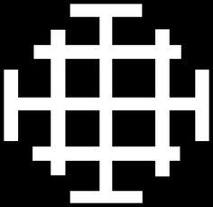 The Jerusalem Cross.